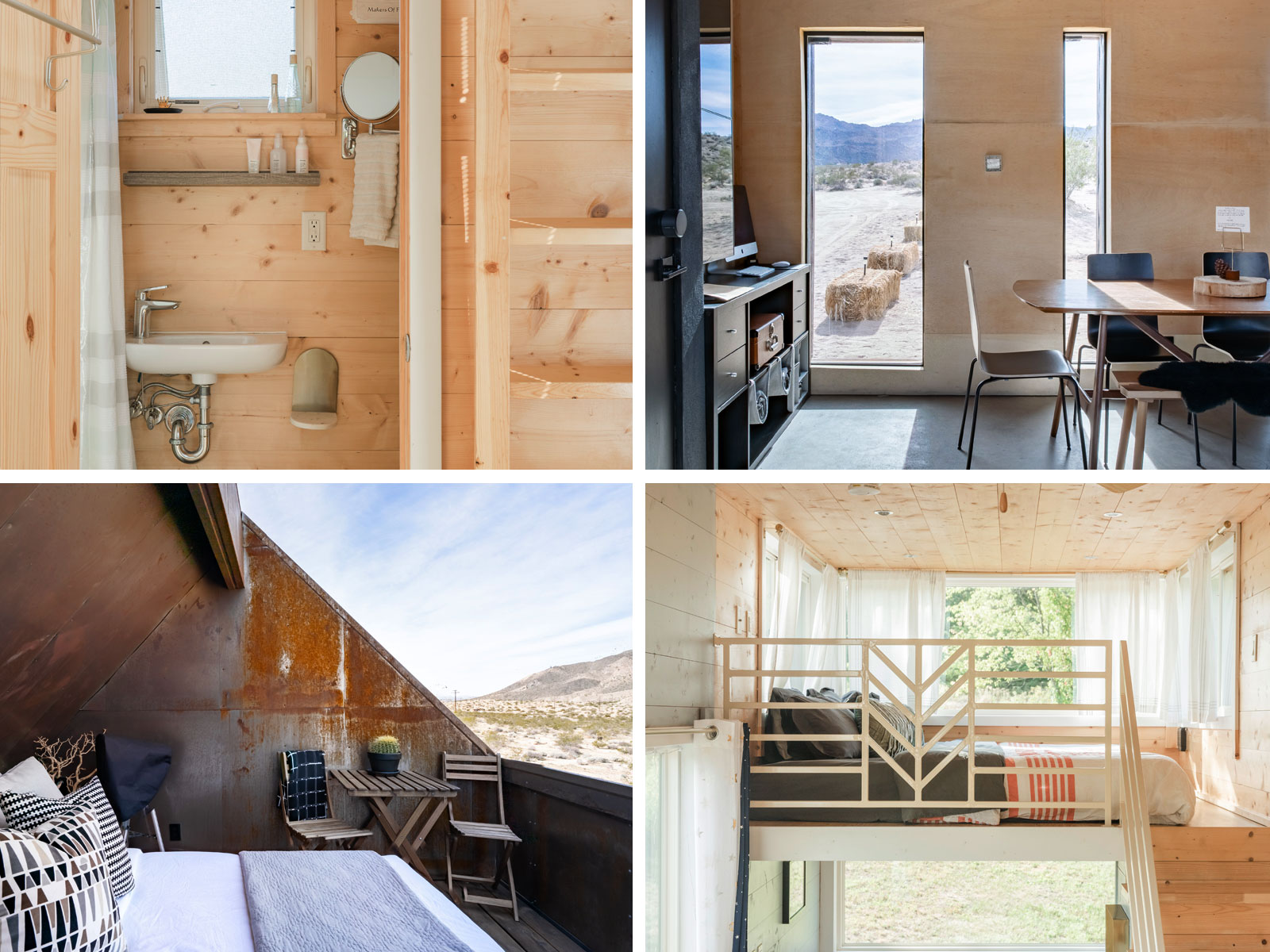 Airbnb Tiny House Interior