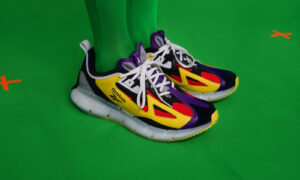 Angus Chiang and Reebok play with bold colors