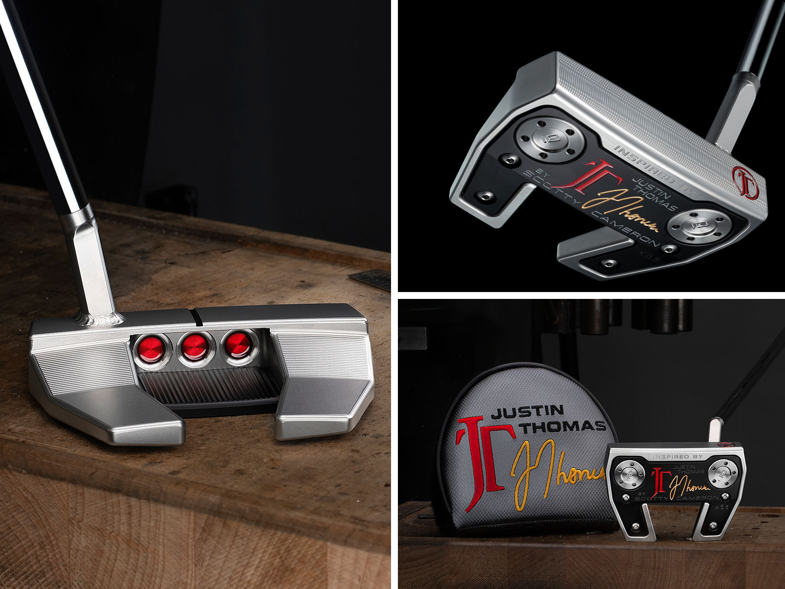 The Scotty Cameron Inspired By Justin Thomas Putter