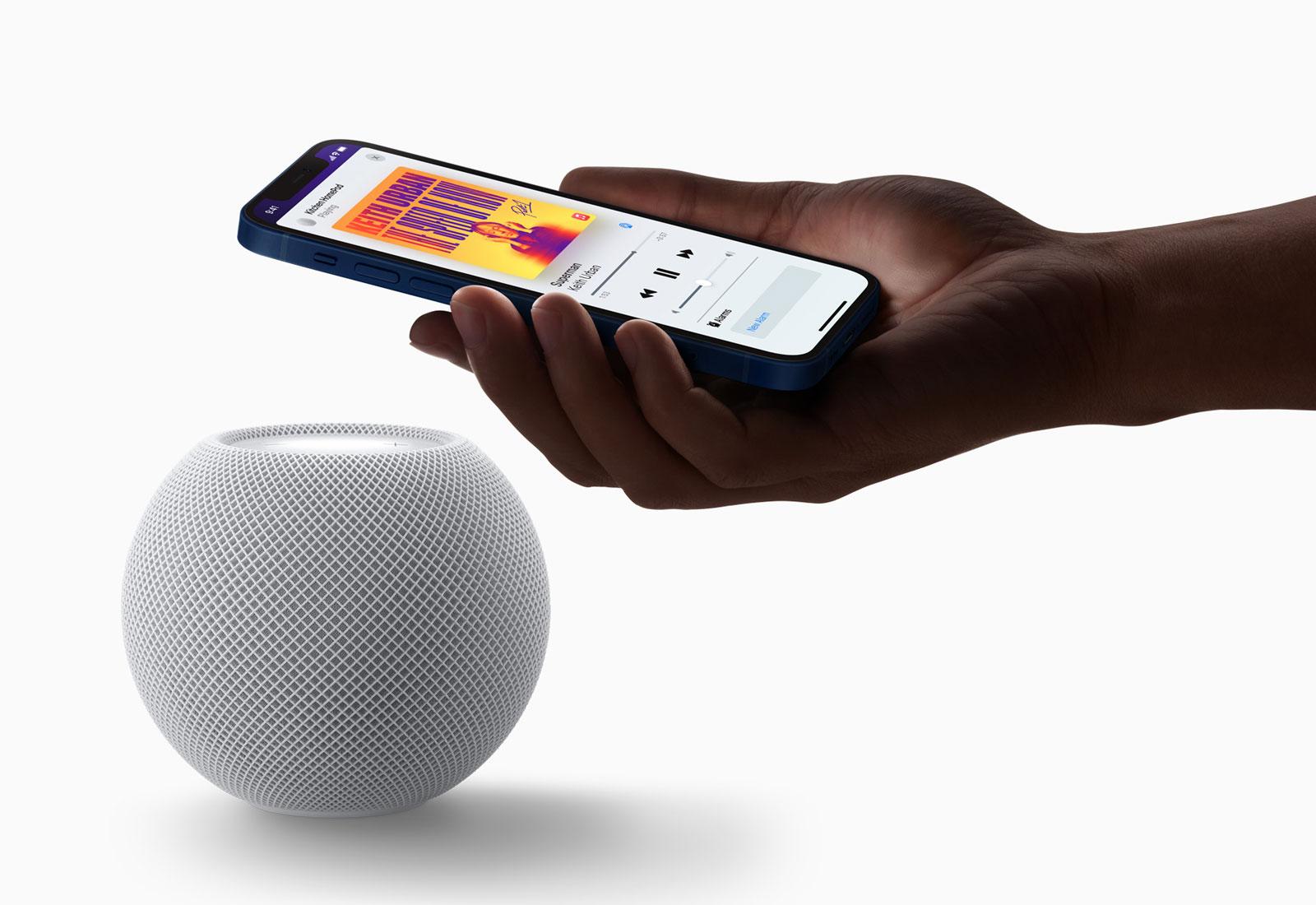 HomePod mini is a powerful smart speaker
