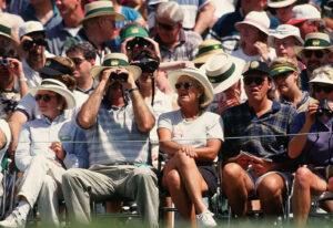 Masters spectators
