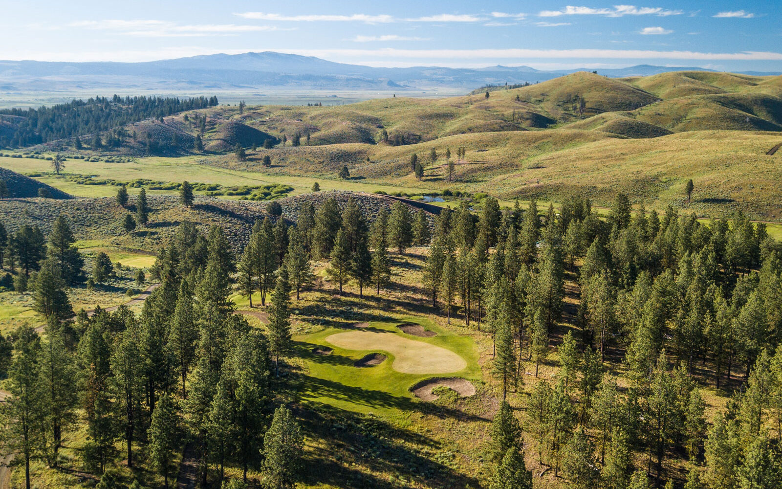Golf among the Ponderosa Pines at Silvies Valley Ranch