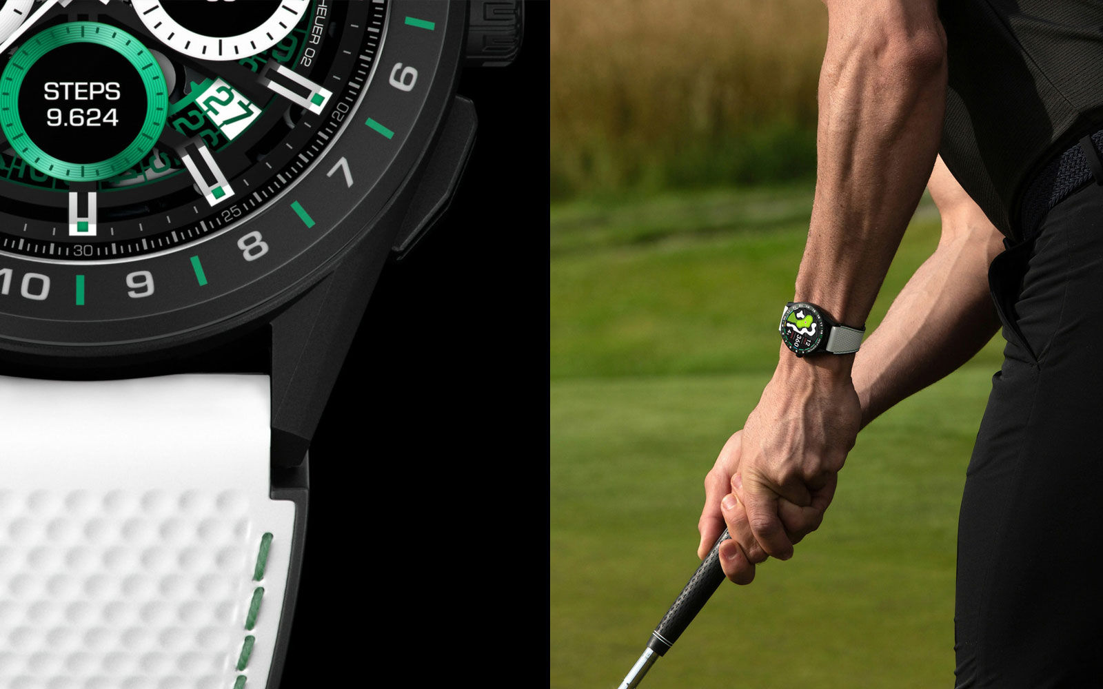 TAG Heuer Smartwatch for golf