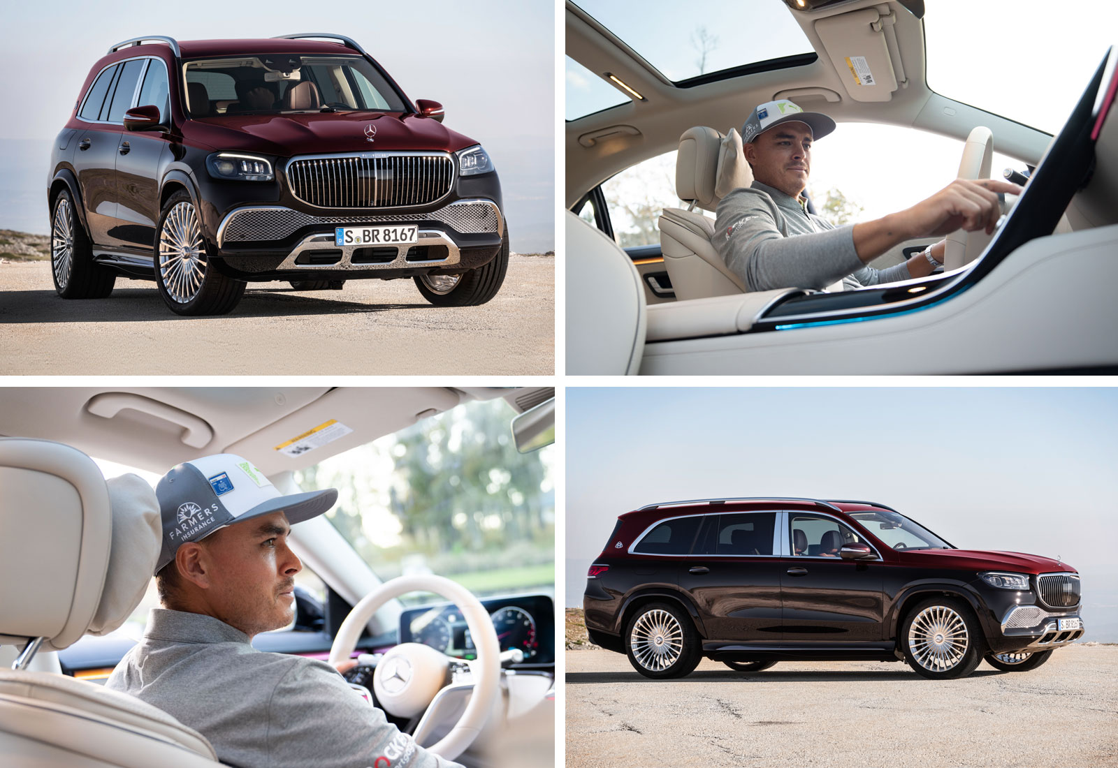 The 2021 Mercedes-Maybach GLS and Rickie Fowler