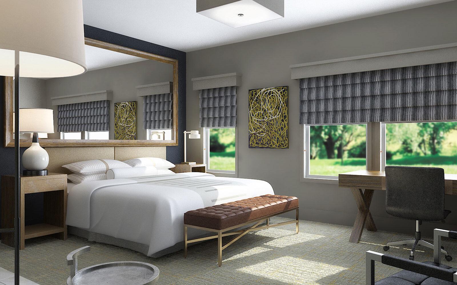 Luxury rooms at Partridge Inn