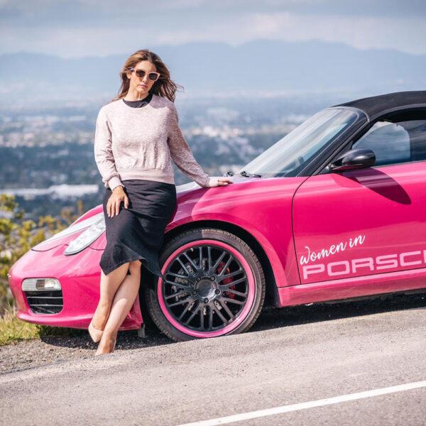 Women In Porsche, Laurina Esposito's Pink Porsche