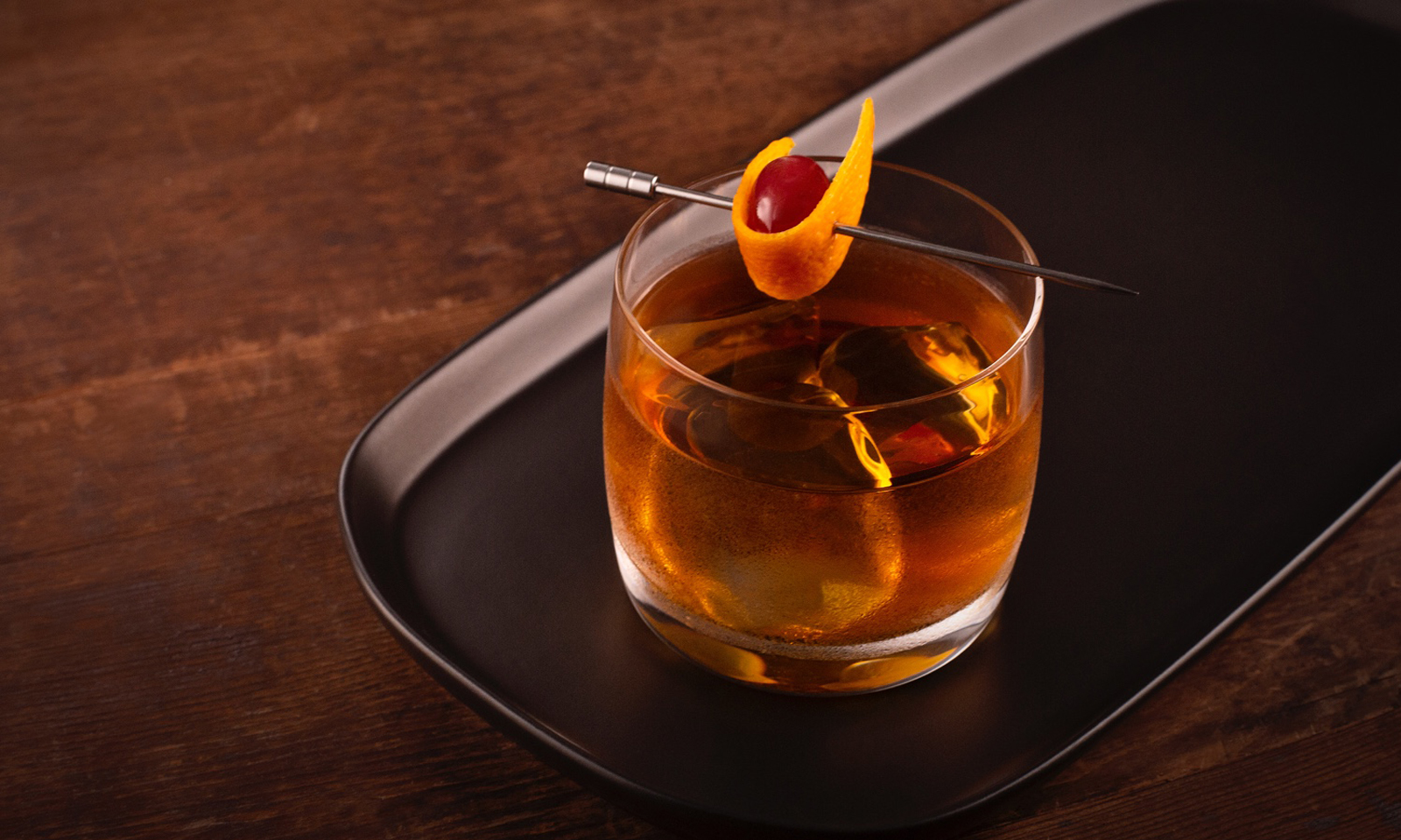 Bushmills Black Fashioned Irish Whiskey Cocktail Recipe