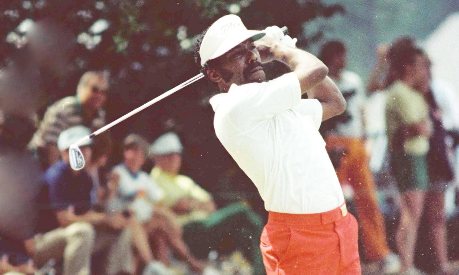 Black Pioneers In Golf The Front Nine Calvin Peete An Unlikely Success Story