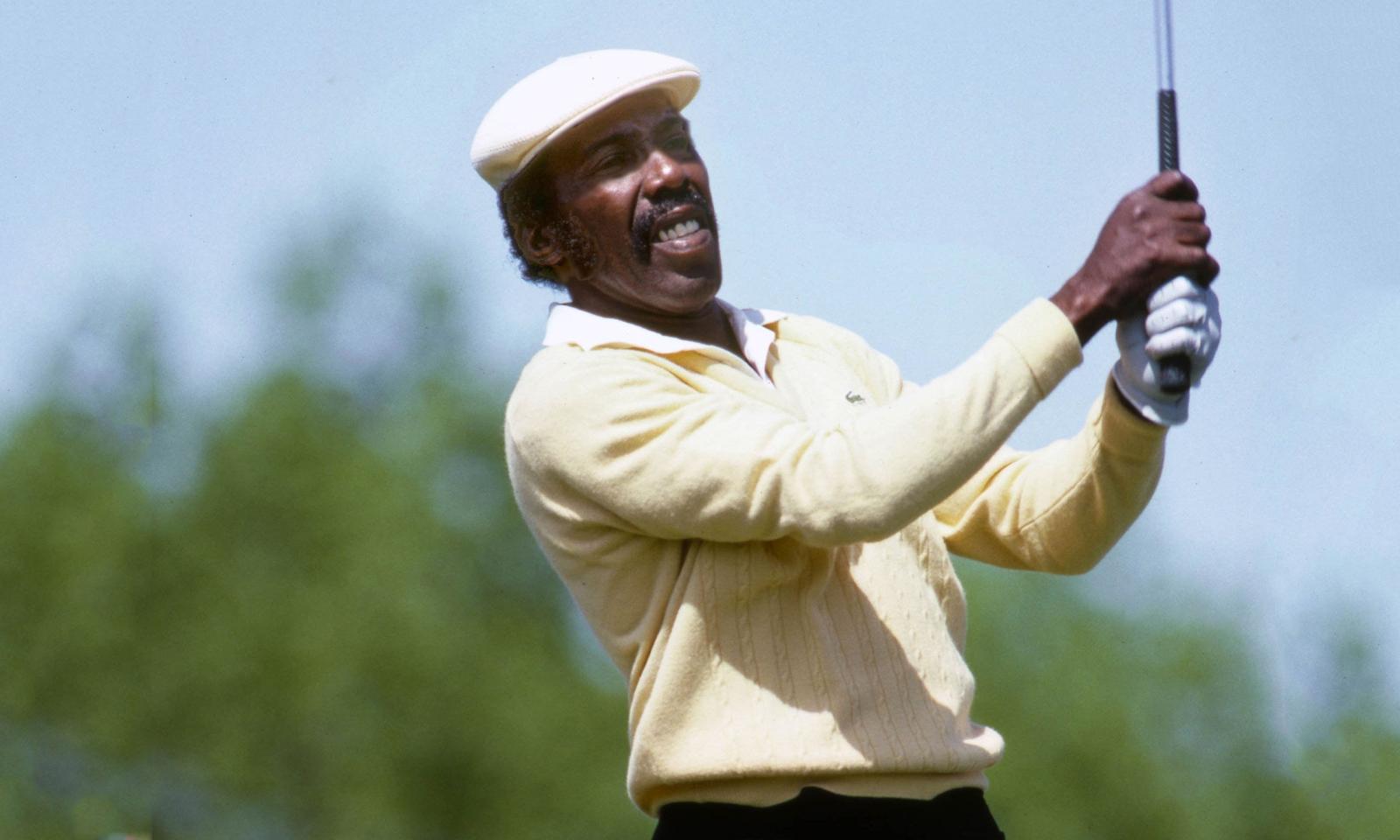 Calvin Peete a Black Pioneer in Golf