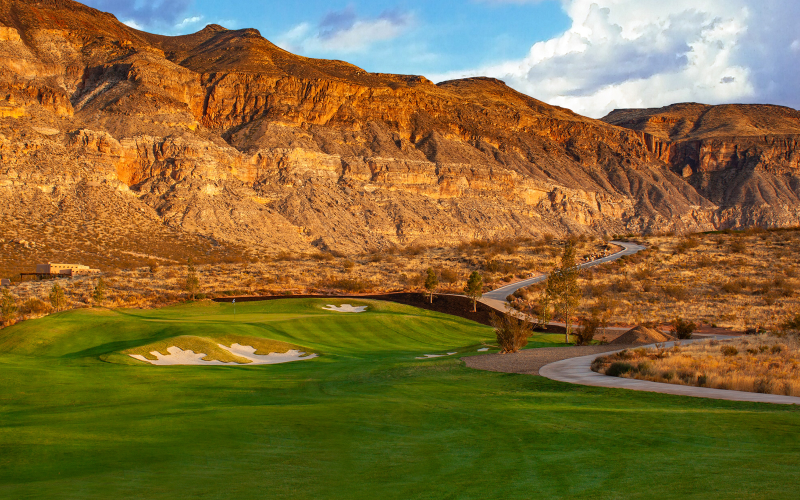 Copper Rock golf course in Utah