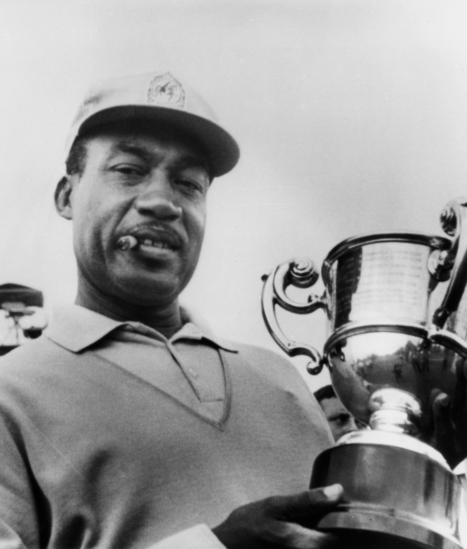 Golf champion Charlie Sifford