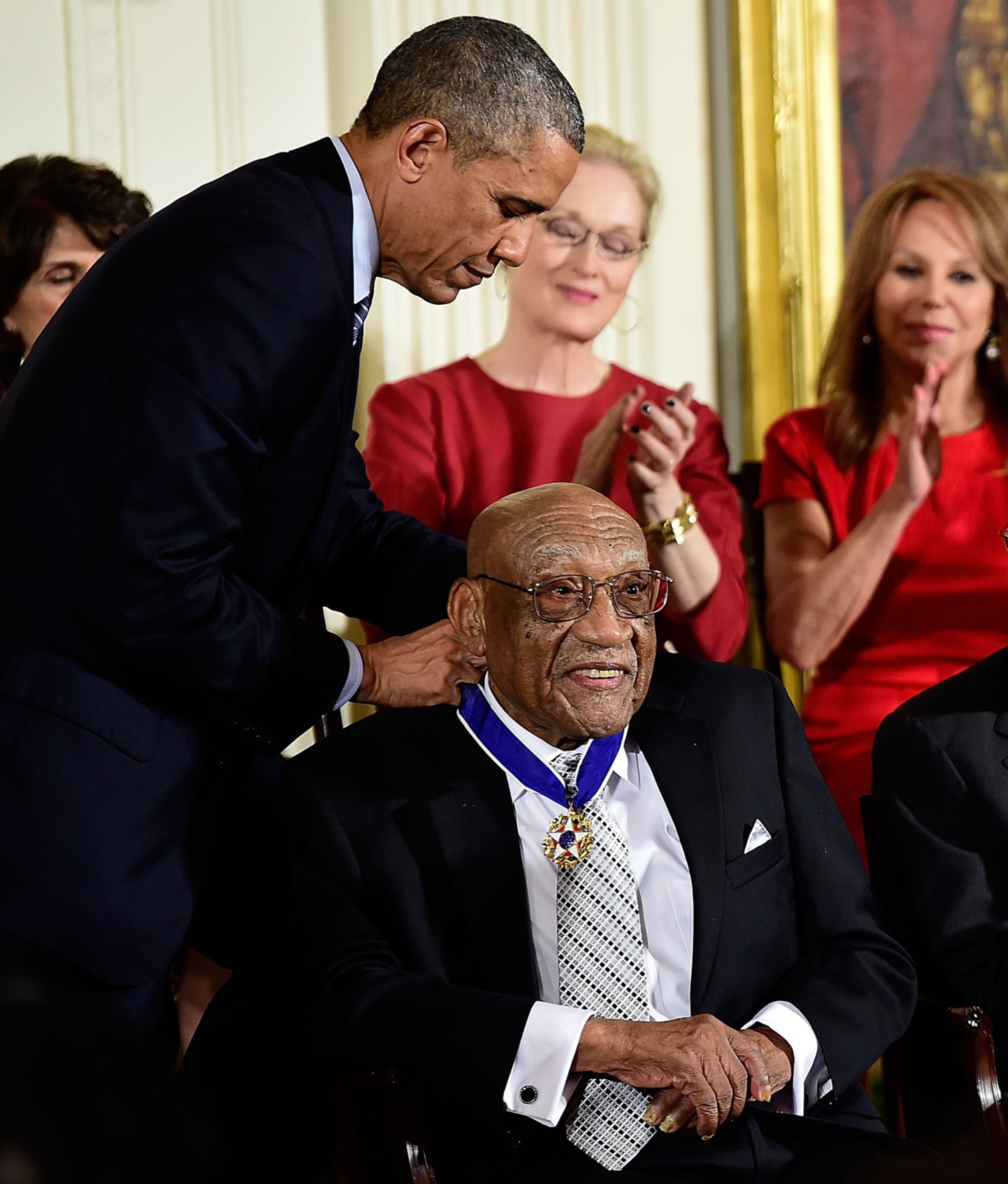 Sifford receives The Medal of Freedom from President Obama