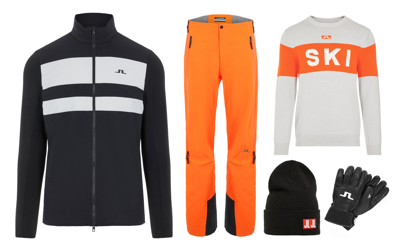 winter golf and ski fashion