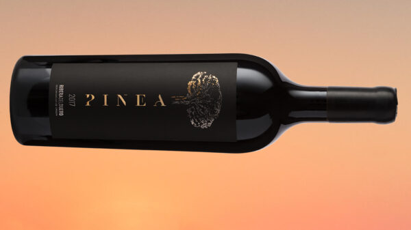 2017 Vintage Of Pinea Tempranillo wine bottle