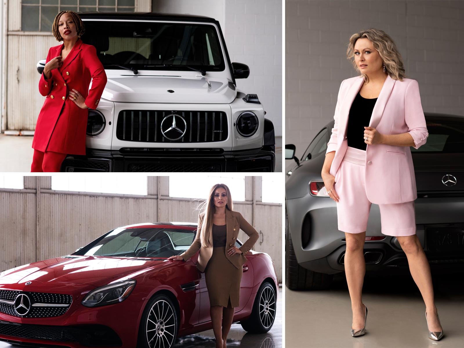 Three high-profile Canadian women—Mitsou Gélinas, Melissa Grelo, and Stacey McKenzie