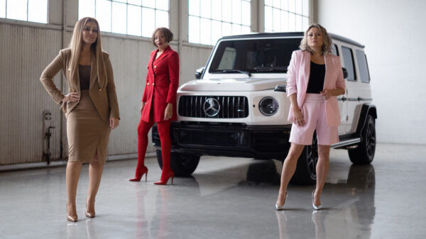 The Shes Mercedes Power Suit Project