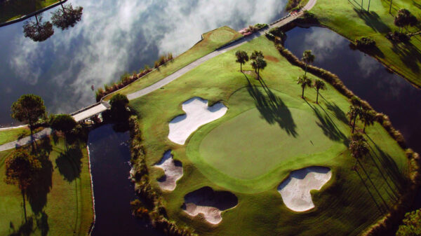 Dye's Valley Course by Architect Pete Dye