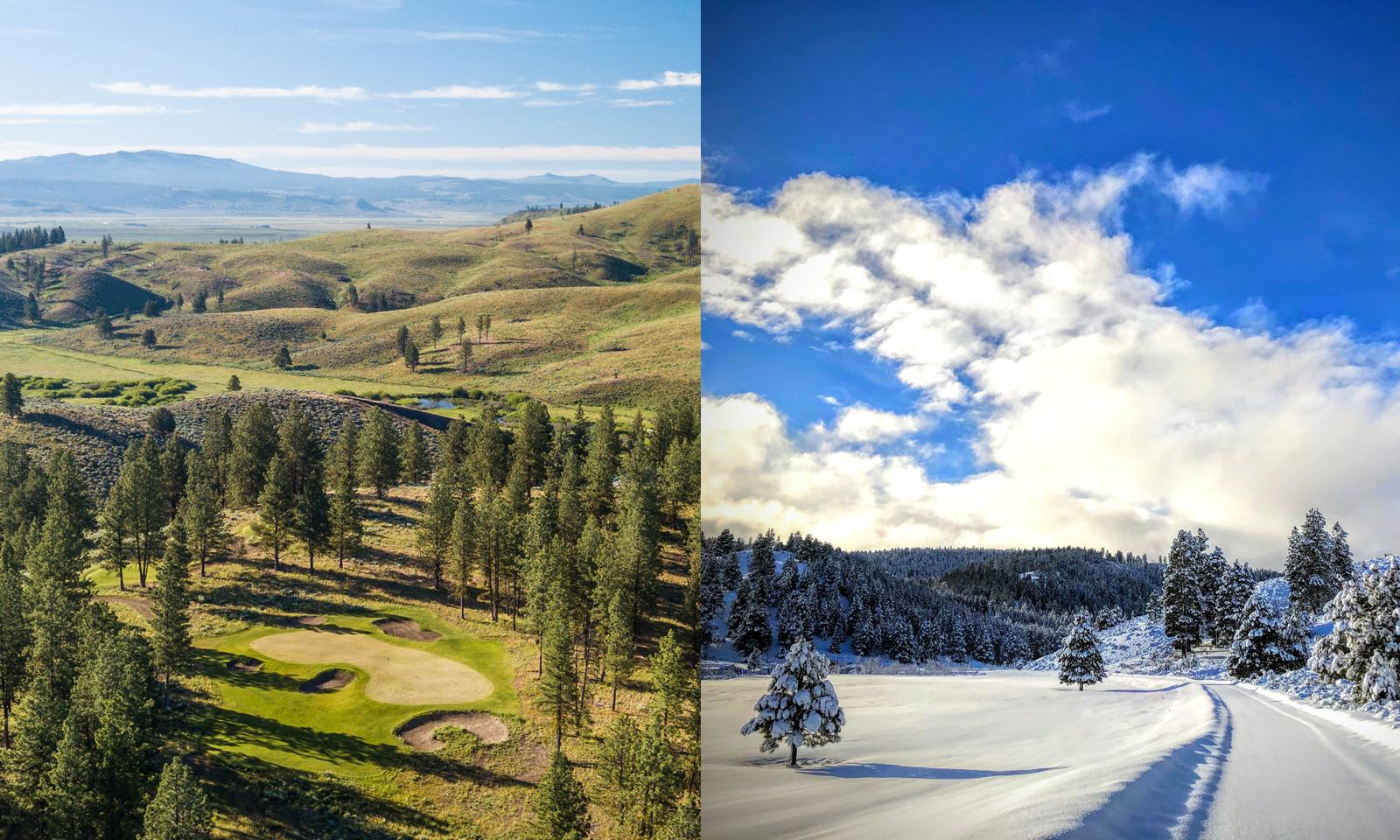 Seasonal Experiences at The Retreat & Links at Silvies Valley Ranch