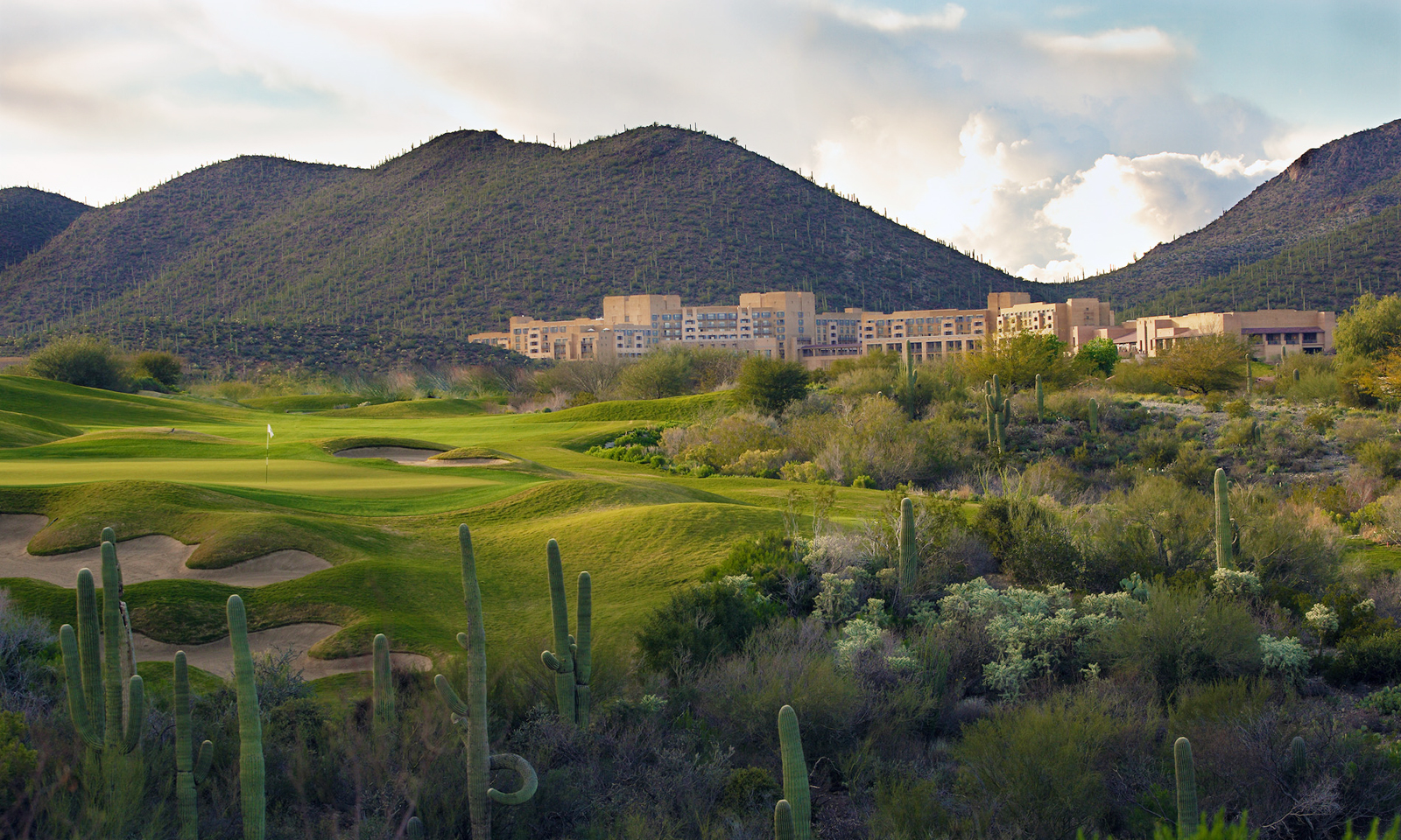 JW Marriott Starr Pass Golf Club — former home to the PGA Tour's Tucson Open