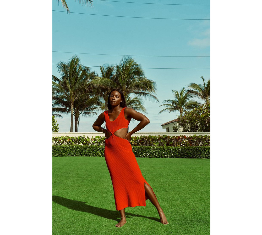 Sloane Stephens launches her new bikini collection 5
