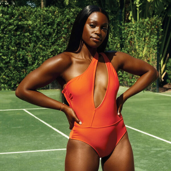 Sloane Stephens launches her new bikini collection hero2