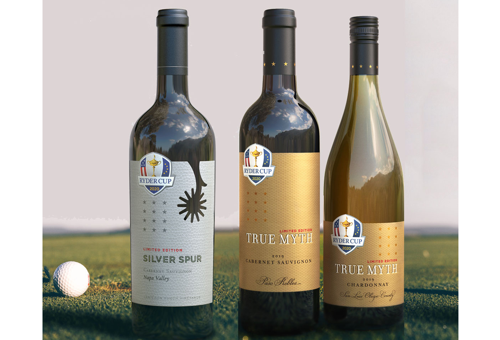 Silver Spur and True Myth Limited Edition Ryder Cup Wines hero 2