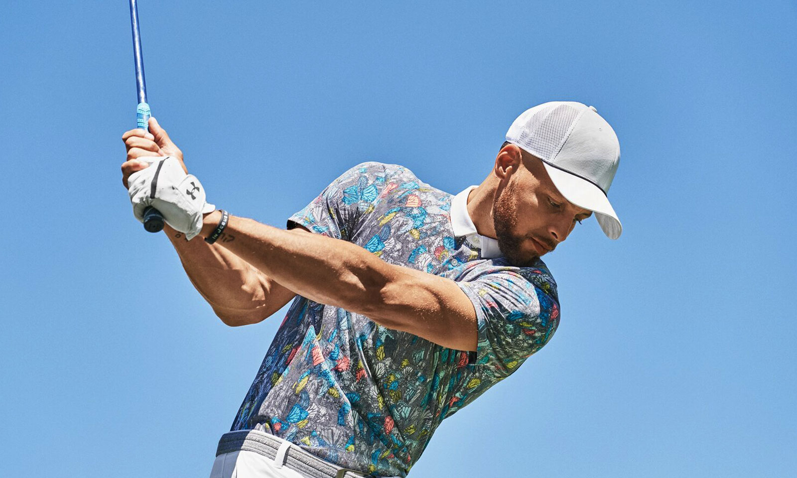 Steph Curry Adds His Expressive Style to Curry Brand Latest Golf Collection hero